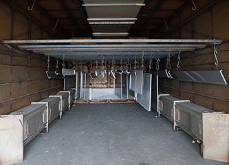 大型乾燥炉2台を所有